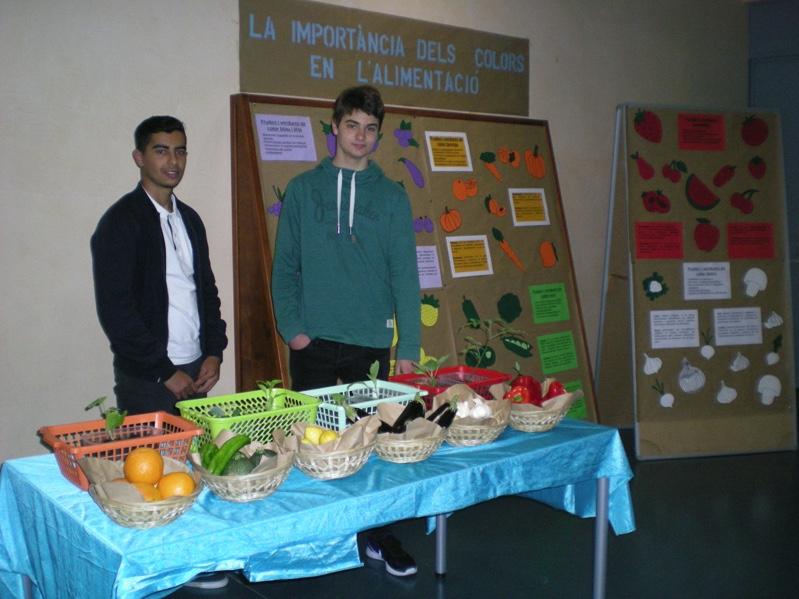 Importància dels colors a l'alimentació