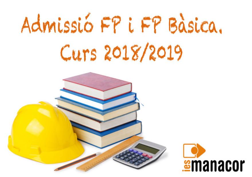 admissió FP