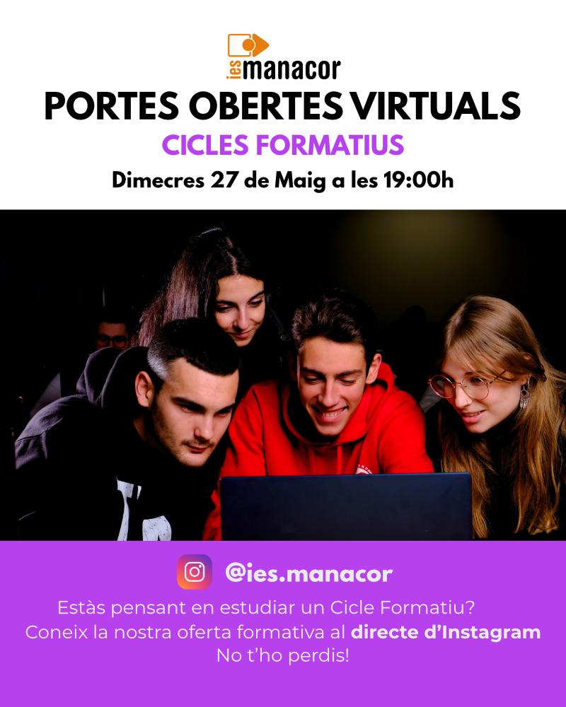 800 pix IG portes obertes virtuals CICLES FORMATIUS