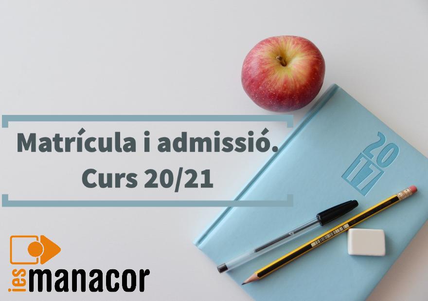 matricula admissió