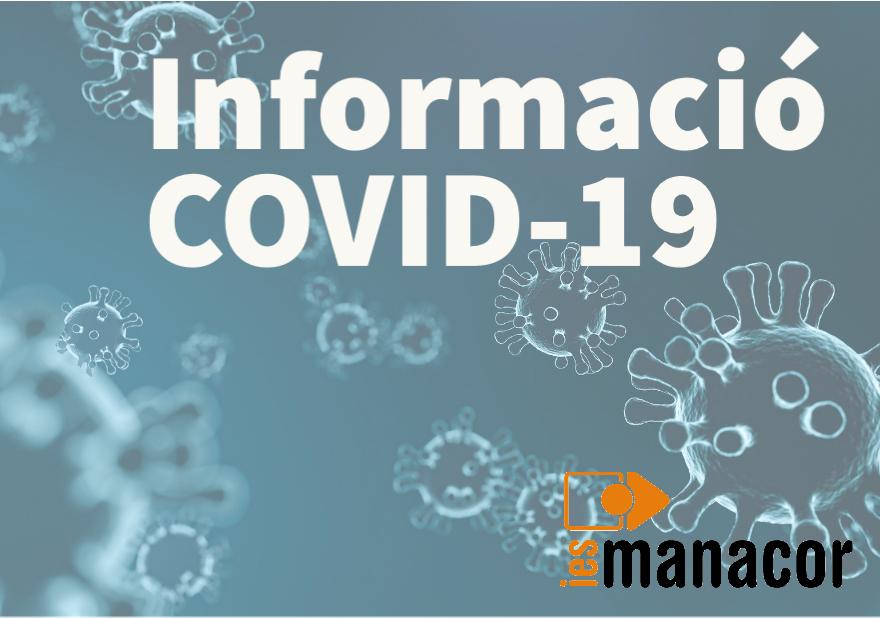 Informació COVID