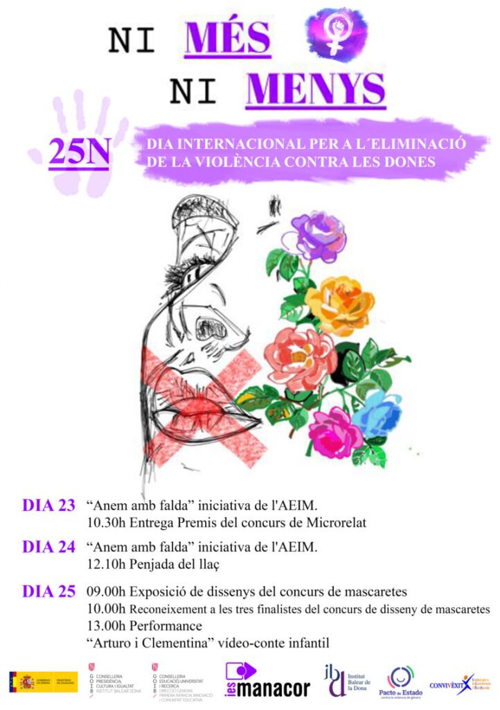 Cartell 25N_v4 - MARGARITA BOU BAUZÀ
