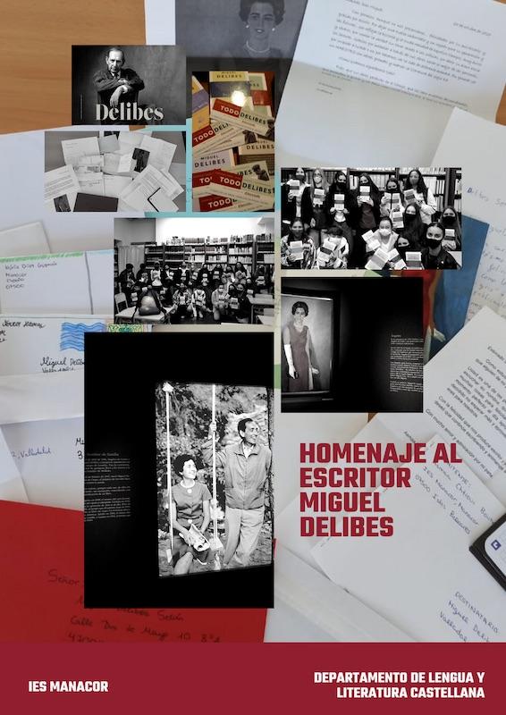 Homenaje al escrito miguel delibes a