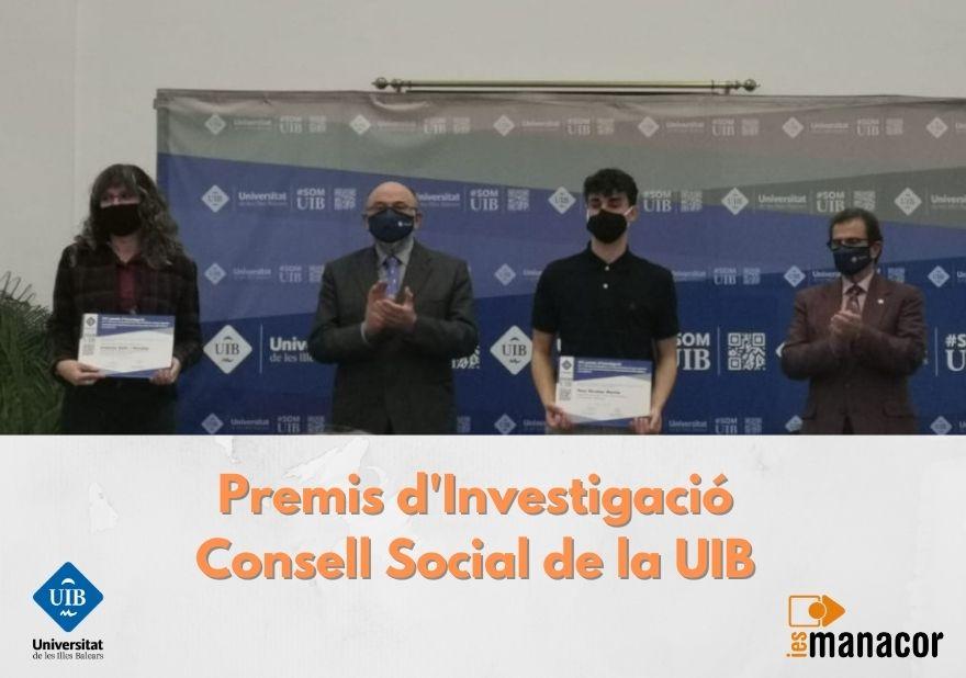 Premis d'Investigació Consell Social de la UIB