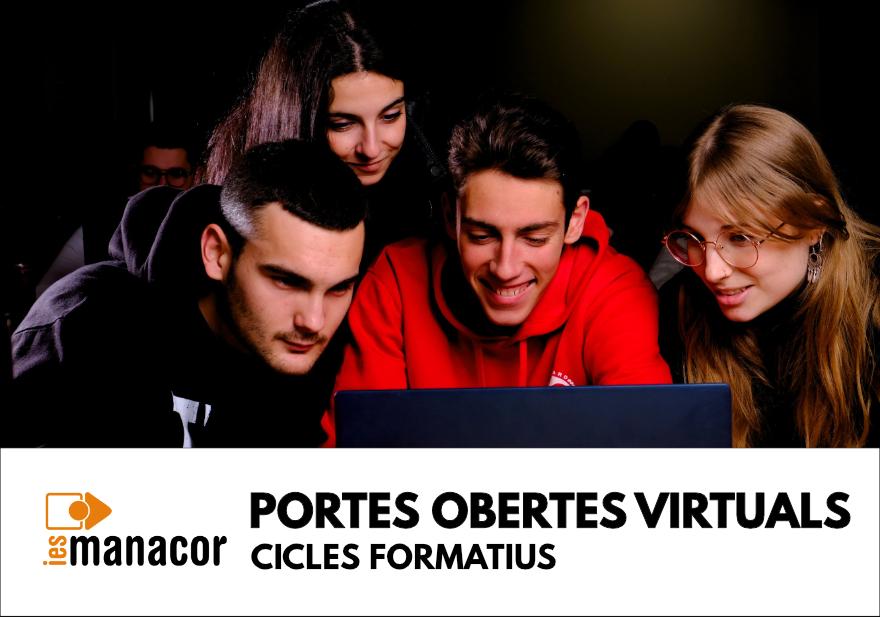 880x618 IG portes obertes virtuals Cicles 2021
