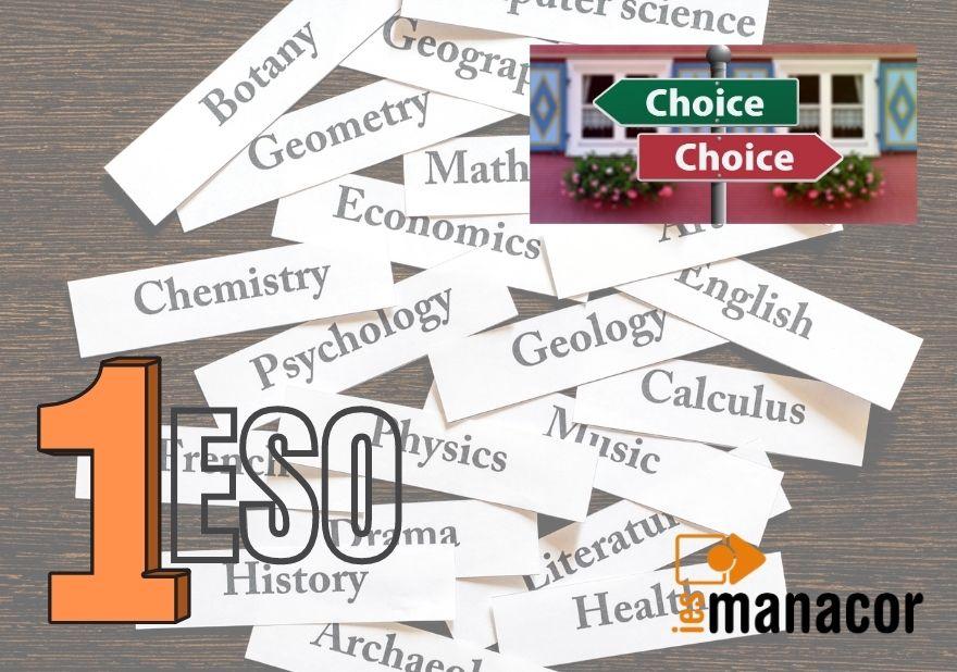 Elecció 1r ESO