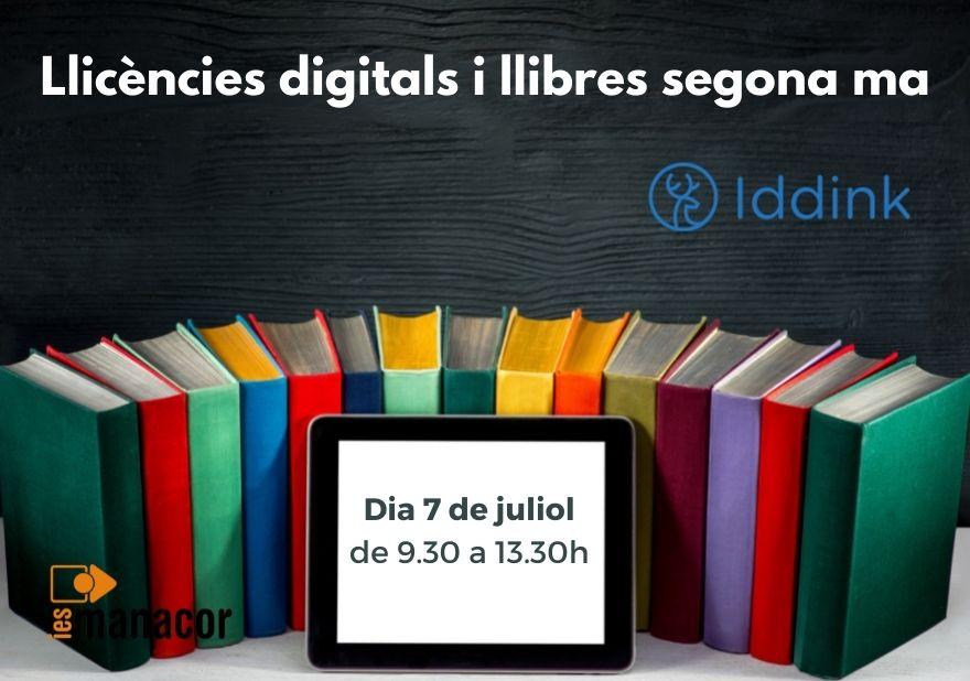 Llicències digitals i llibres segona ma