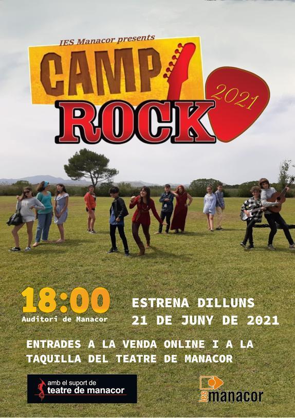 Póster Camp rock definitiu