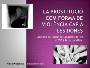 La prostitució com forma de violència cap a